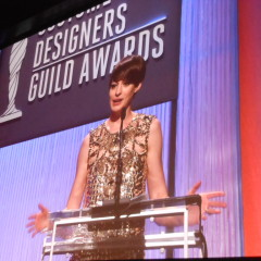 Sparkly Gowns and Crystal Trophies at the Costume Designers Guild Awards
