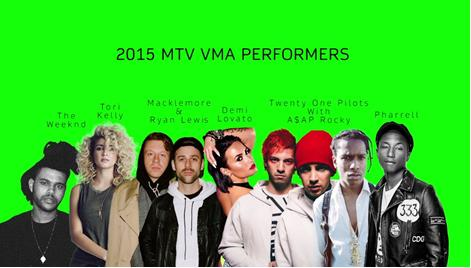 Miley, Kanye, Taylor and Beyonce Head For MTV VMAs