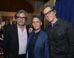 Griffin Dunne, Jill Soloway and Kevin Bacon