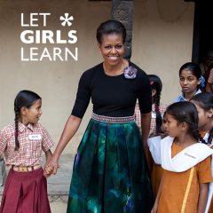 Michelle Obama's Campaign to Educate Girls Around the World