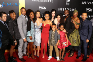WGN Underground Season 2 Premiere at Regency Village in Westwood Featuring: Atmosphere Where: Westwood, California, United States When: 28 Feb 2017 Credit: Guillermo Proano/WENN.com