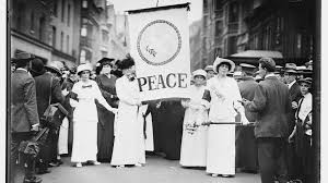 womens march august 1914
